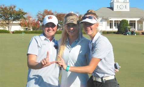 Women's golf team wins the CAP-8 championship three years in a row