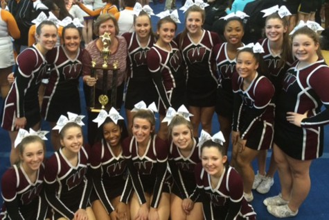 Cheerleaders take home top prize