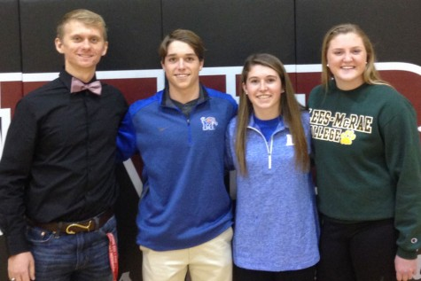 Wakefield student athletes take the final step