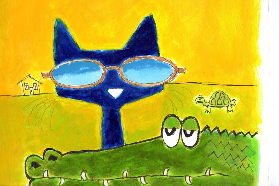 Pete the Cat and the magic sunglasses