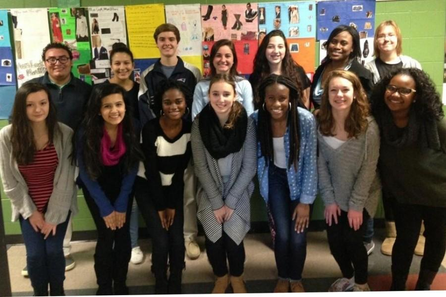The French Honor Society enjoys the experience of competition.