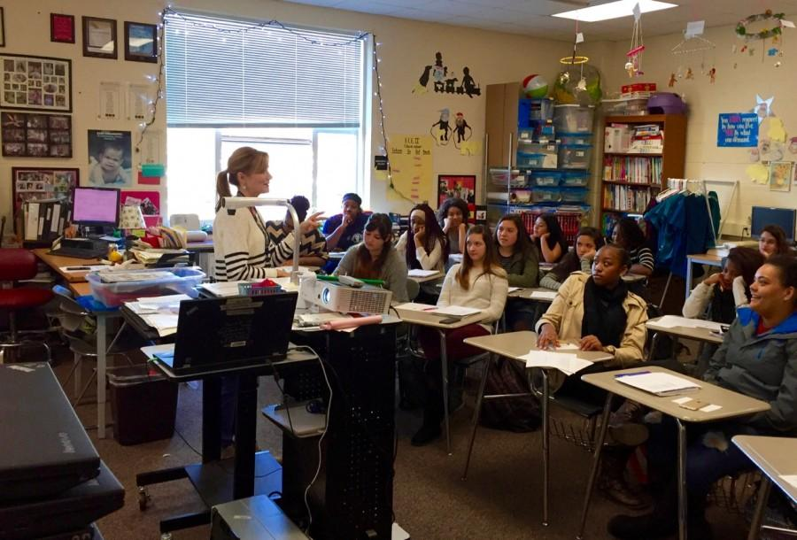 Irma Bode creates a fun learning environment for her students.