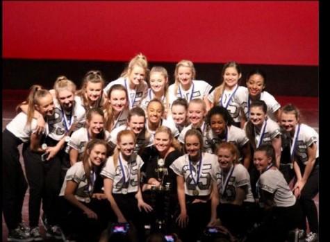 Dance team state champions