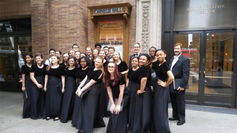 Wakefield Chorus takes a bite out of the Big Apple