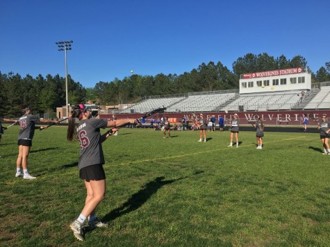 Wakefield varsity women's lacrosse pushes towards success