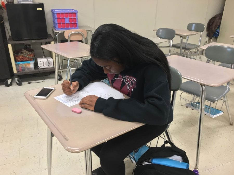Students begin AP testing.