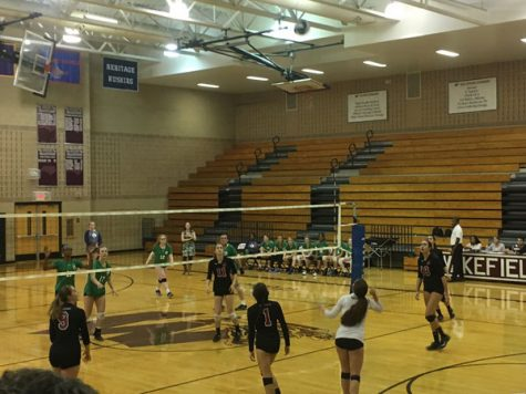 Wakefield volleyball slams the competition