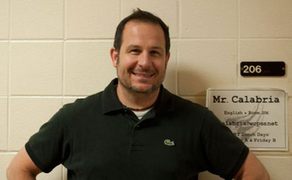 For 16 years, Mr. Calabria has manned the halls of Wakefield.