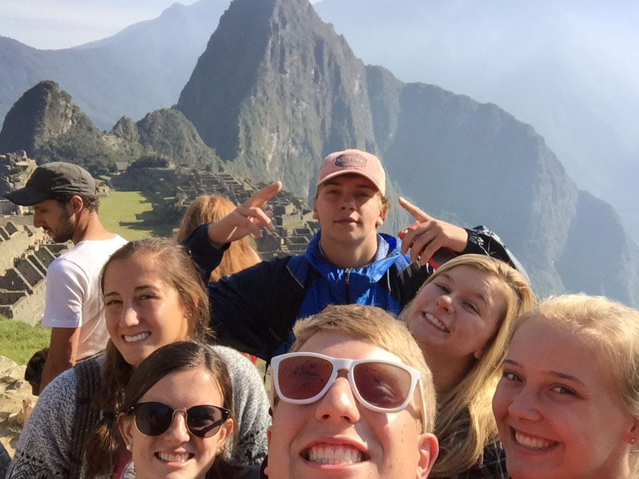 North Raleigh Methodist Youth Group takes on Machu Picchu.