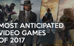 Most anticipated video games of 2017