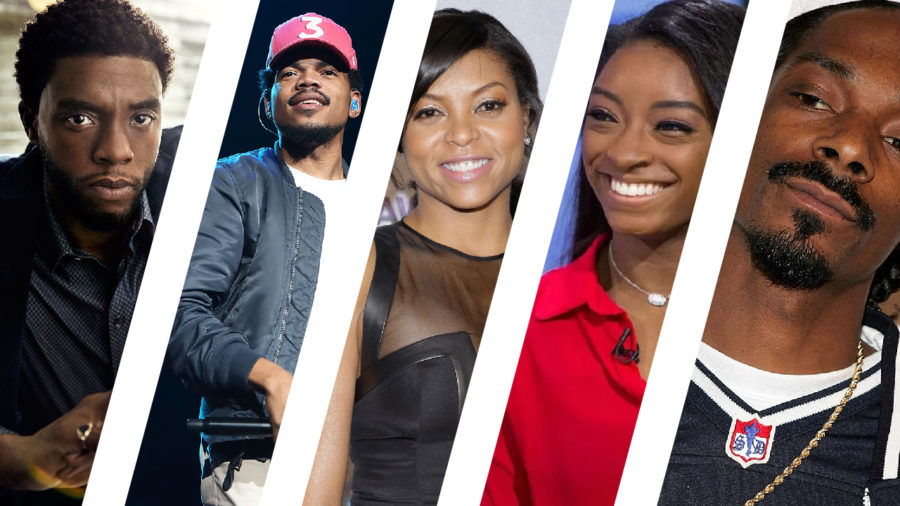 Black+celebrities+are+supporting+awesome+causes+while+changing+their+industry