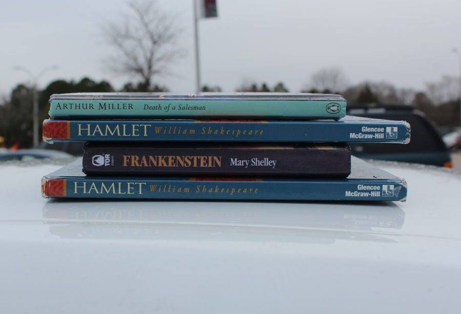 A handful of novels that many students will read in high school.