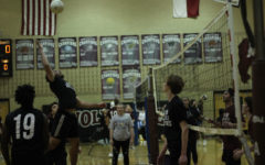 All the bros take on volleyball