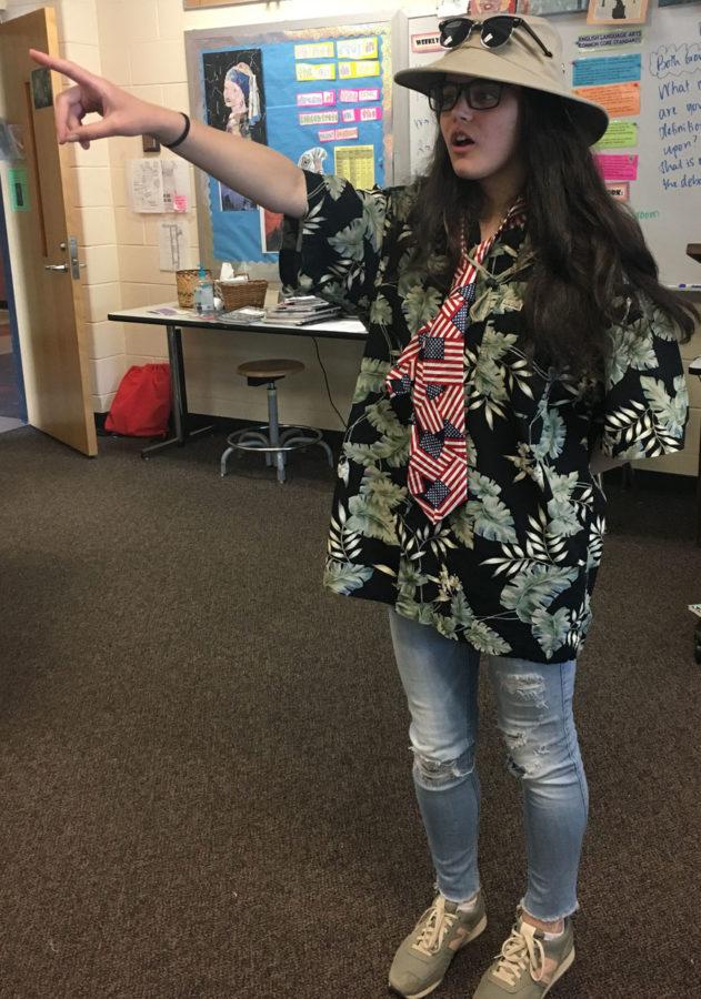 Isabela Mercer on Tacky Tourist Thursday