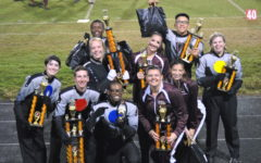 Marching band looks back on a triumphant season