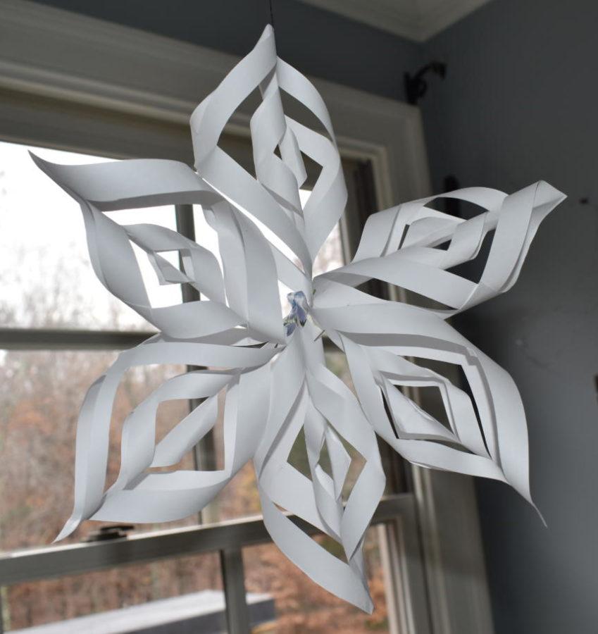 Allie's Winter Christmas Craft!