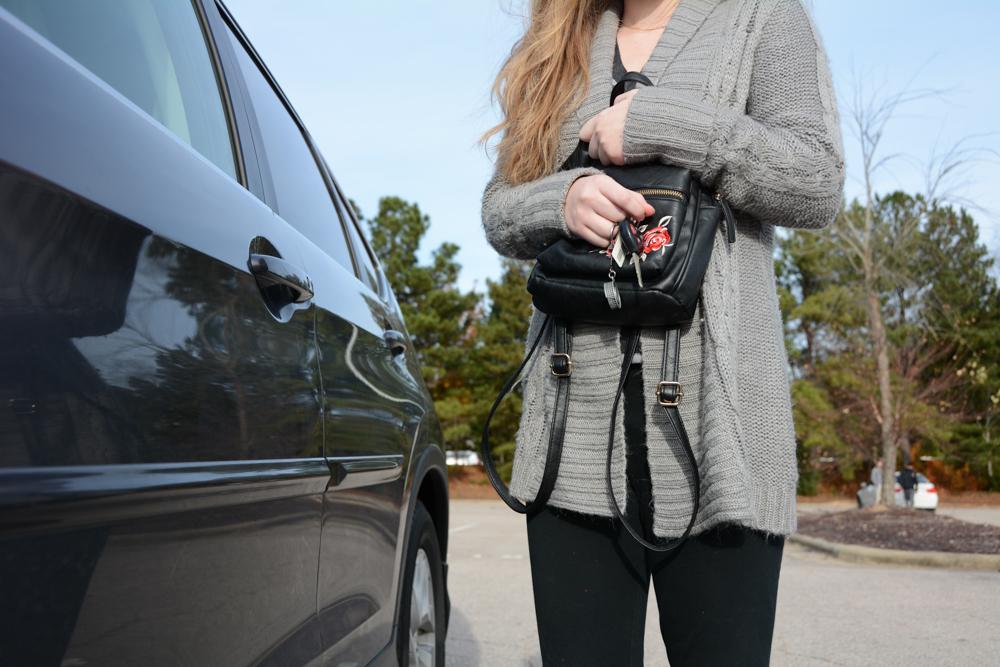 Self defense workshops help students prepare to protect themselves in parking lots against predators.
