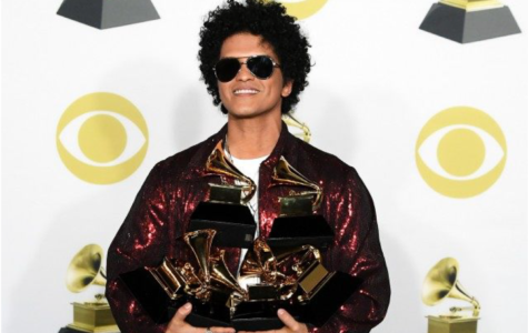 Bruno Mars Sweeps at the 2018 Grammys