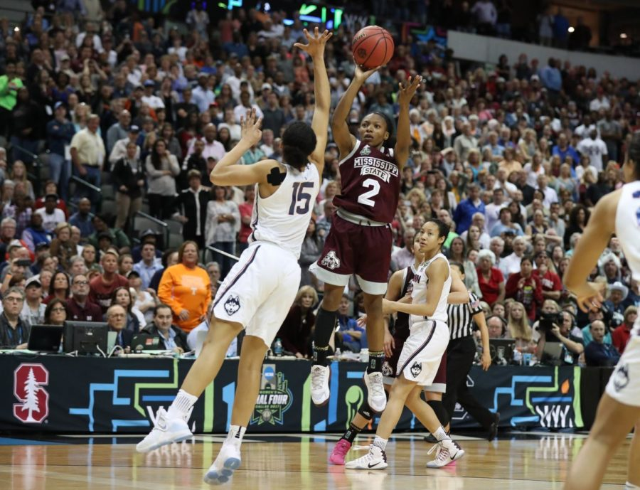 Mississippi+State+Defeats+UCONN+Women%E2%80%99s+College+Basketball+%C2%A0%C2%A0