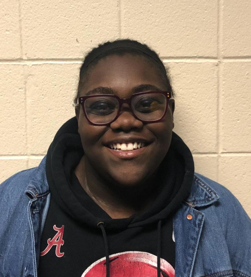 Alaila McClendon, 12th grade.