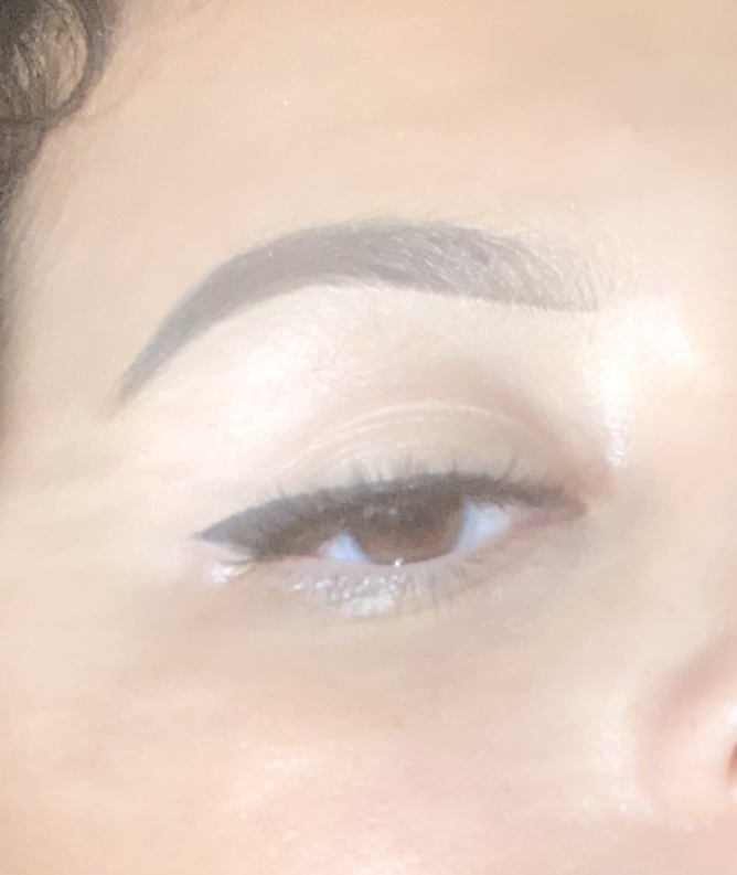 Dramatic Instagram Brow Look