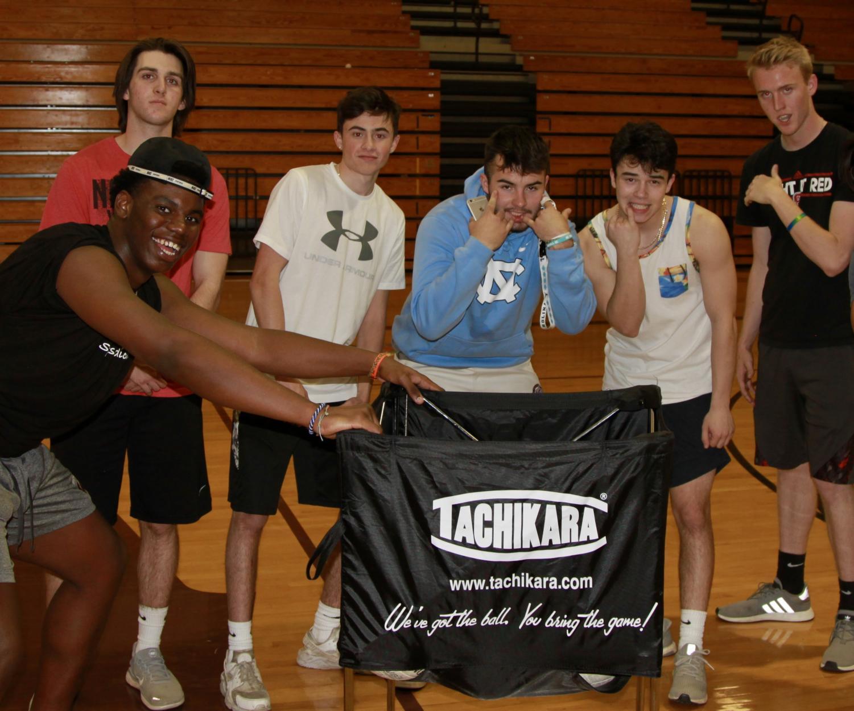 Wakefield Volleybros know school spirit.