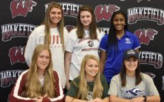 Five females commit to colleges at Wakefield's signing event