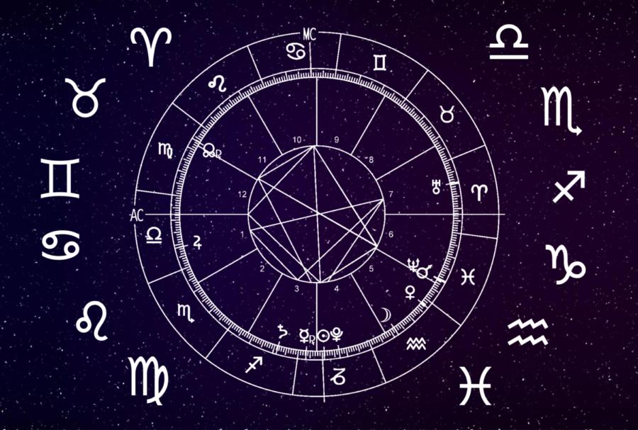 The+12+zodiacs+of+the+horoscope+wheel.