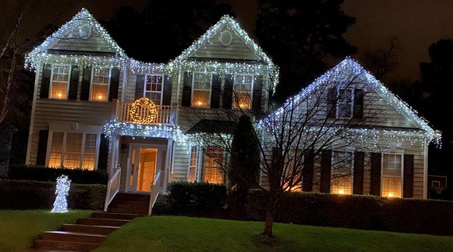 Pretty lights in Bedford.