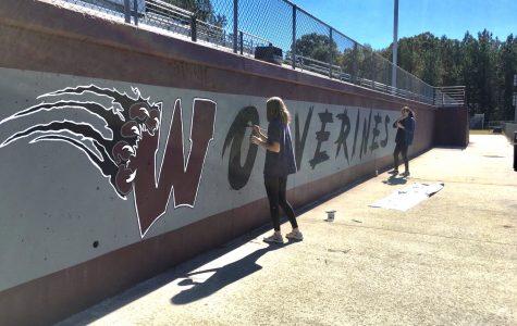 NAHS students leave their mark on football stadium