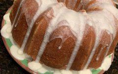 DIY: Lemon- buttermilk pound cake