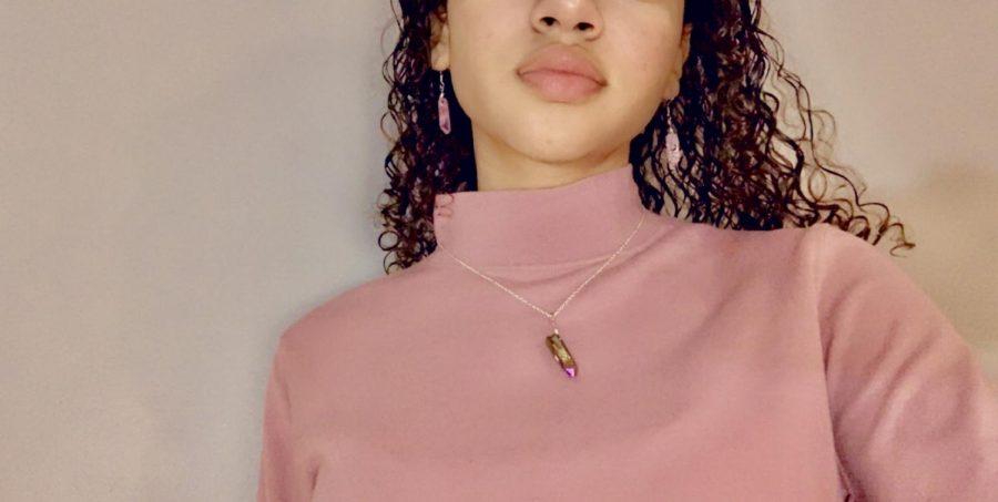 DIY crystal charm jewelry
