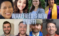A collage of Wakefield's new teachers and staff (2020).