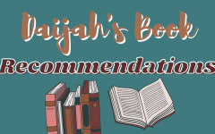 Daijah's Book Recommendations recurring graphic