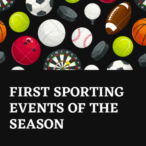 After months of waiting, the first sporting events of the season are here.