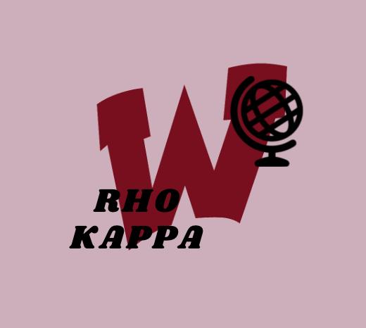 Rho Kappa Logo