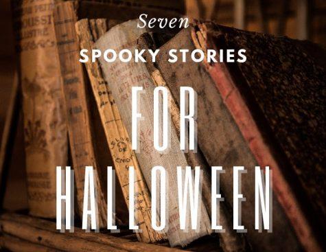 Seven spooky books for Halloween